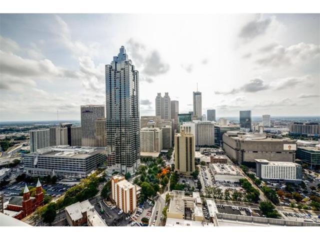 400 W Peachtree Street NW #2807, Atlanta, GA 30308 (MLS #5940969) :: Charlie Ballard Real Estate