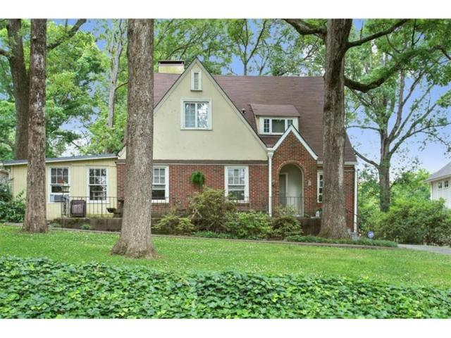 1215 N Decatur Road, Atlanta, GA 30306 (MLS #5941350) :: The Zac Team @ RE/MAX Metro Atlanta