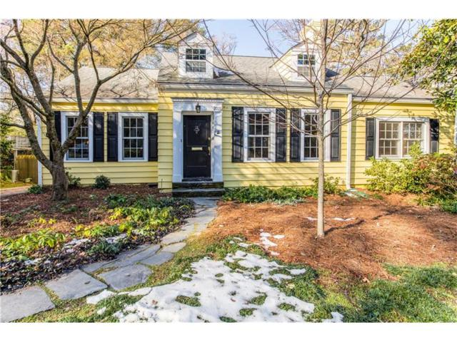 2076 Golfview Drive NW, Atlanta, GA 30309 (MLS #5942317) :: The Holly Purcell Group