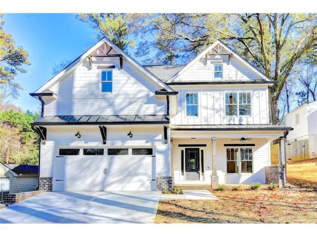 1368 Arnold Avenue NE, Atlanta, GA 30324 (MLS #5942602) :: The Hinsons - Mike Hinson & Harriet Hinson