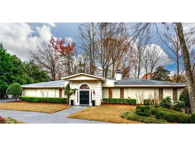 270 Glen Lake Drive, Sandy Springs, GA 30327 (MLS #5942839) :: The Hinsons - Mike Hinson & Harriet Hinson