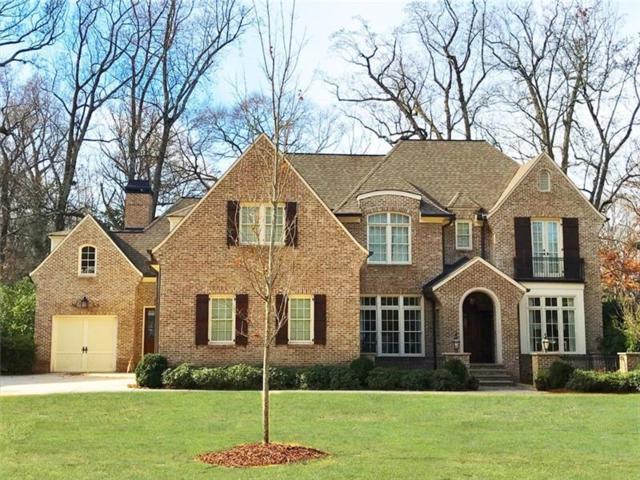 1740 Doncaster Drive NE, Atlanta, GA 30309 (MLS #5946906) :: The Zac Team @ RE/MAX Metro Atlanta