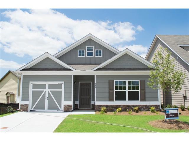 411 Rockview Drive, Canton, GA 30114 (MLS #5947038) :: North Atlanta Home Team