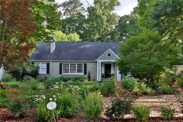 469 E Wesley Road NE, Atlanta, GA 30305 (MLS #5950096) :: North Atlanta Home Team