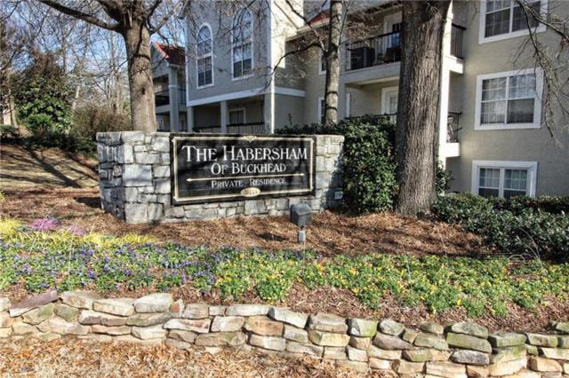 3655 Habersham Road NE A337, Atlanta, GA 30305 (MLS #5951033) :: RE/MAX Prestige