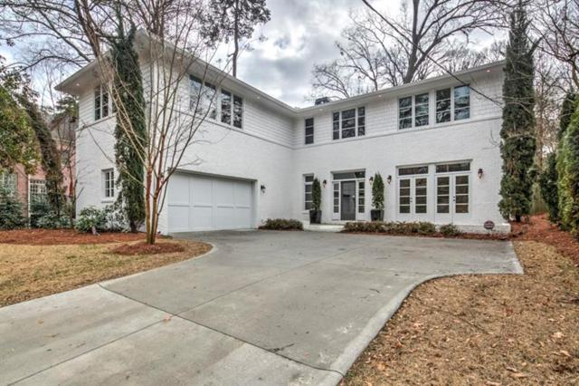 345 E Wesley Road NE, Atlanta, GA 30305 (MLS #5951340) :: North Atlanta Home Team