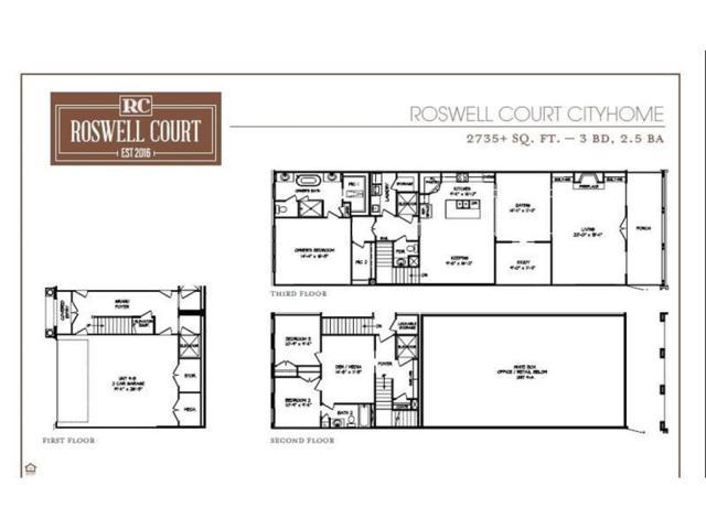 153 Norcross Street #12, Roswell, GA 30075 (MLS #5951675) :: RE/MAX Paramount Properties