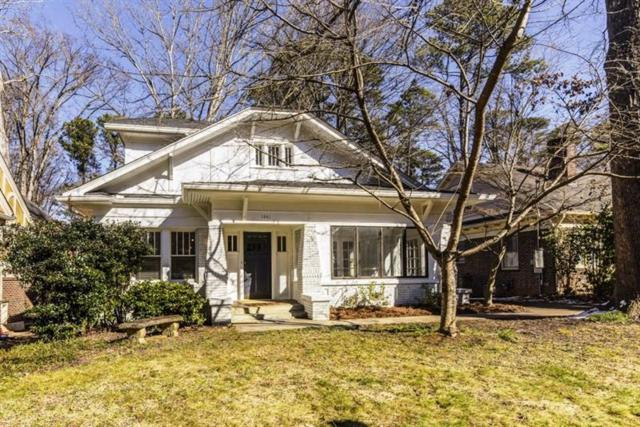 1441 N Morningside Drive NE, Atlanta, GA 30306 (MLS #5953036) :: North Atlanta Home Team