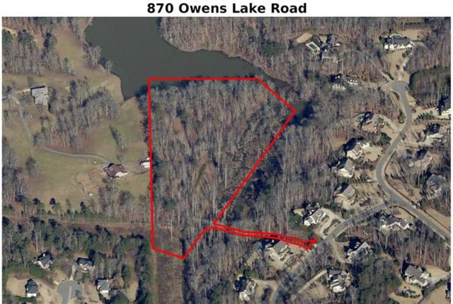 870 Owens Lake Road, Milton, GA 30004 (MLS #5958065) :: Todd Lemoine Team