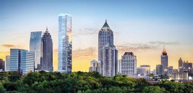 98 14th Street NE #1101, Atlanta, GA 30309 (MLS #5961387) :: RE/MAX Paramount Properties