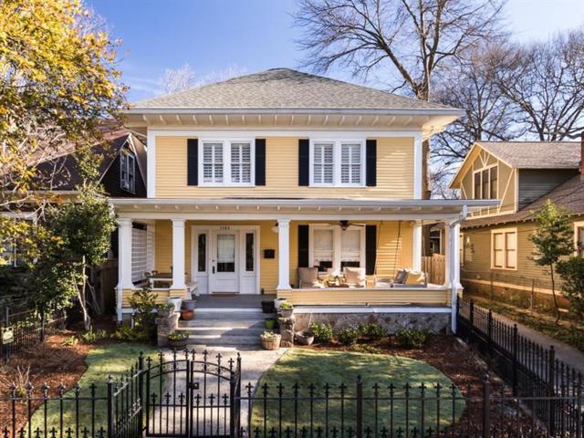 1104 Colquitt Avenue NE, Atlanta, GA 30307 (MLS #5962152) :: The Justin Landis Group