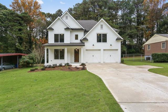 1890 Canmont Drive NE, Brookhaven, GA 30319 (MLS #5964293) :: North Atlanta Home Team