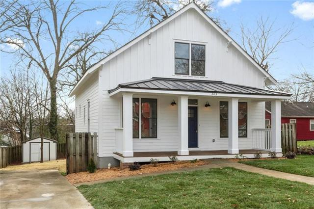 605 John Wesley Dobbs Avenue NE, Atlanta, GA 30312 (MLS #5964479) :: RCM Brokers