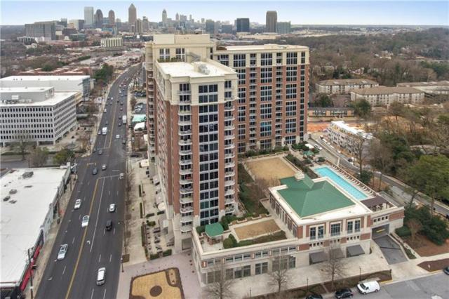 1820 Peachtree Street NW #1715, Atlanta, GA 30309 (MLS #5964627) :: RE/MAX Paramount Properties