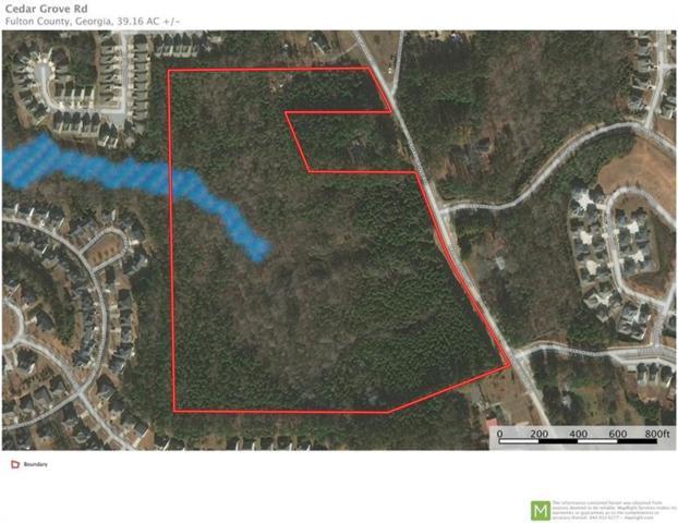0 Cedar Grove Road, Fairburn, GA 30213 (MLS #5964633) :: North Atlanta Home Team