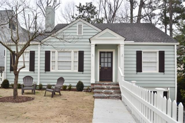 240 Eureka Drive NE, Atlanta, GA 30305 (MLS #5964945) :: North Atlanta Home Team
