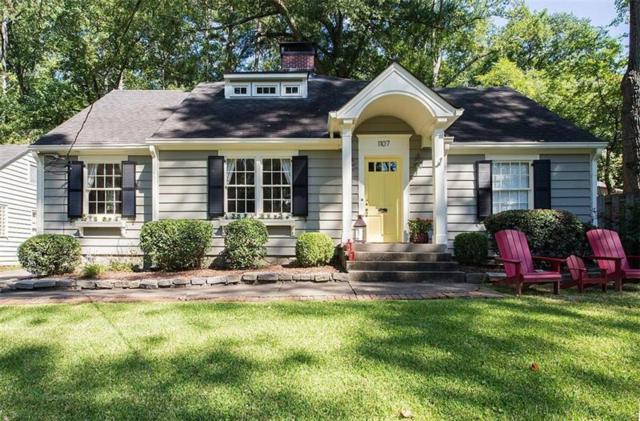 1107 Rosedale Road NE, Atlanta, GA 30306 (MLS #5965285) :: North Atlanta Home Team