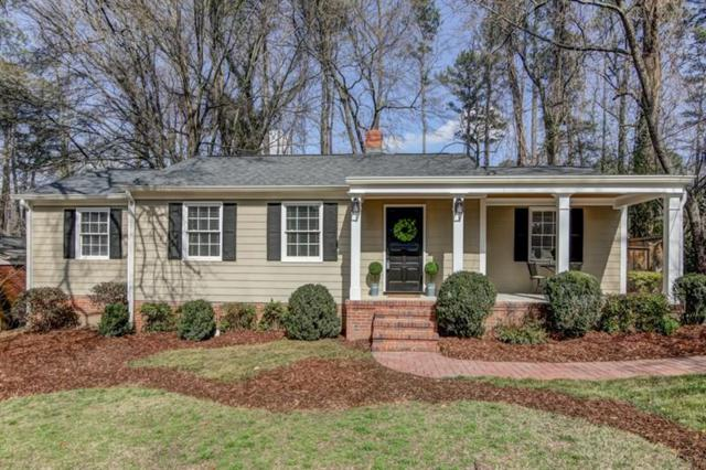 1566 Trentwood Place NE, Brookhaven, GA 30319 (MLS #5965459) :: Charlie Ballard Real Estate