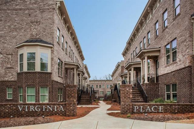 1206 Virginia Court NE #104, Atlanta, GA 30306 (MLS #5965998) :: The Zac Team @ RE/MAX Metro Atlanta