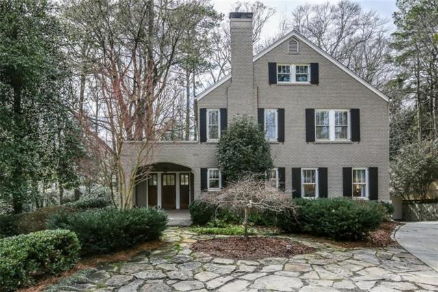 1495 N Decatur Road NE, Atlanta, GA 30306 (MLS #5966620) :: The Zac Team @ RE/MAX Metro Atlanta