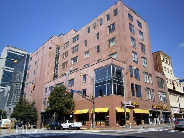 87 Peachtree Street SW #607, Atlanta, GA 30303 (MLS #5966627) :: The Justin Landis Group