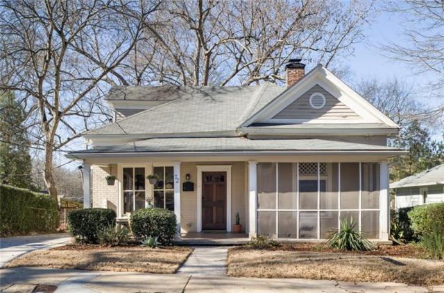 72 Flora Avenue NE, Atlanta, GA 30307 (MLS #5966707) :: Ashton Taylor Realty