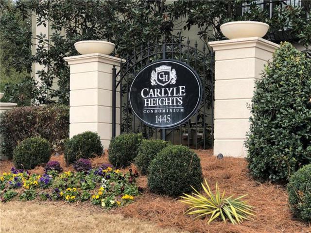 1445 Monroe Drive NE F 9, Atlanta, GA 30324 (MLS #5968245) :: The Bolt Group