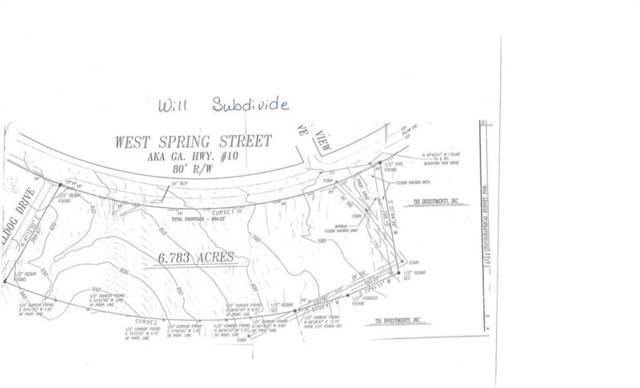 1361 W Spring Street, Monroe, GA 30656 (MLS #5968843) :: North Atlanta Home Team