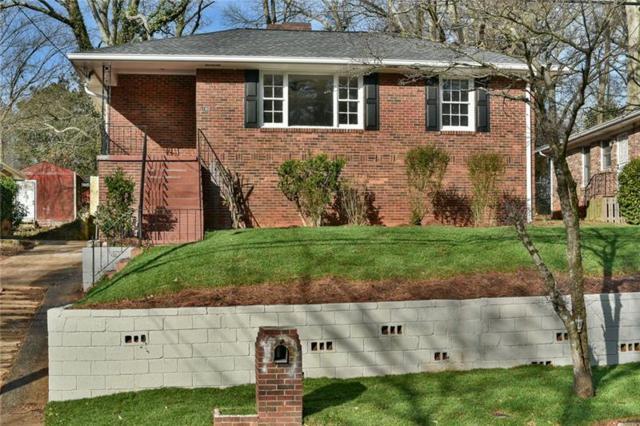 180 Burbank Drive NW, Atlanta, GA 30314 (MLS #5969662) :: Charlie Ballard Real Estate