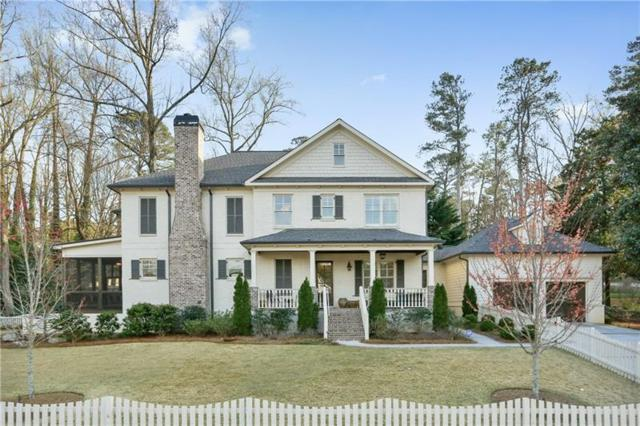 4237 Wieuca Road NE, Atlanta, GA 30342 (MLS #5971873) :: The Hinsons - Mike Hinson & Harriet Hinson