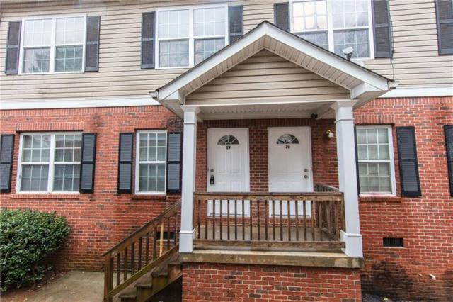 1651 Massachusetts Avenue SW #19, Marietta, GA 30008 (MLS #5972067) :: North Atlanta Home Team
