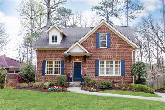 1314 University Drive NE, Atlanta, GA 30306 (MLS #5982172) :: North Atlanta Home Team