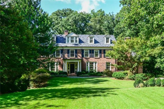 1442 W Wesley Road NW, Atlanta, GA 30327 (MLS #5982406) :: The Hinsons - Mike Hinson & Harriet Hinson