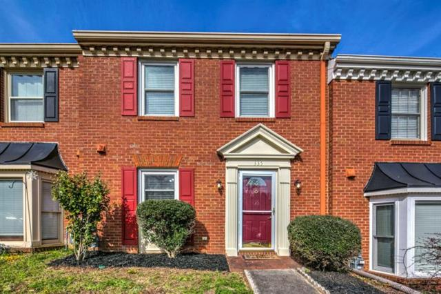 335 Towergate Place, Sandy Springs, GA 30350 (MLS #5982895) :: The Hinsons - Mike Hinson & Harriet Hinson