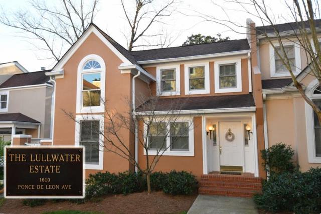 19 Lullwater Estates NE, Atlanta, GA 30307 (MLS #5983725) :: The Hinsons - Mike Hinson & Harriet Hinson