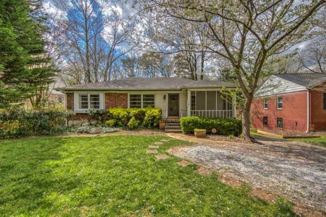 1730 Helen Drive NE, Atlanta, GA 30306 (MLS #5983932) :: Dillard and Company Realty Group