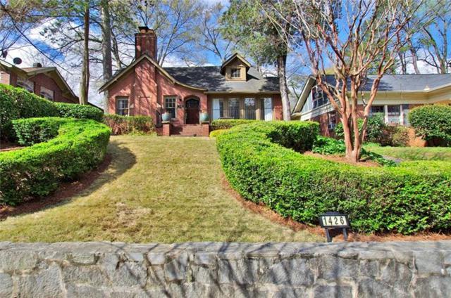 1426 Monroe Drive NE, Atlanta, GA 30324 (MLS #5984005) :: Dillard and Company Realty Group