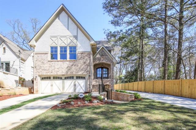 1393 Lanier Place, Atlanta, GA 30306 (MLS #5984143) :: Dillard and Company Realty Group