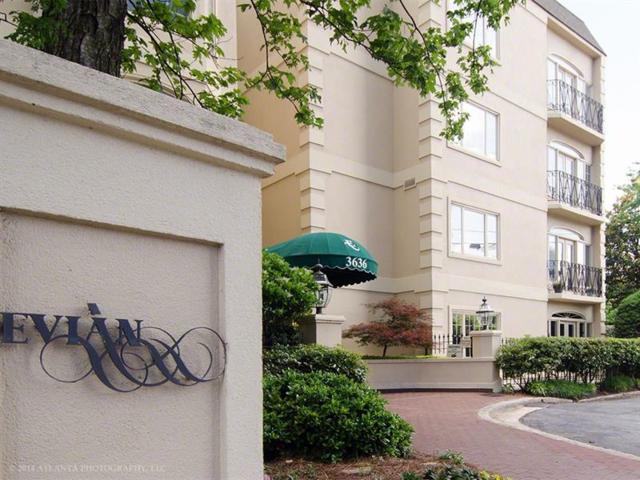 3636 Peachtree Road NE #305, Atlanta, GA 30319 (MLS #5984423) :: RE/MAX Prestige