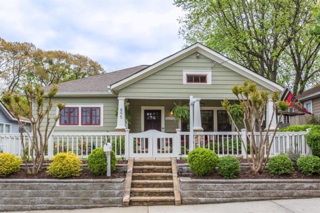 895 Ponce De Leon Place NE, Atlanta, GA 30306 (MLS #5994130) :: Carr Real Estate Experts