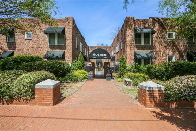 1026 Saint Charles Avenue NE #11, Atlanta, GA 30306 (MLS #5994974) :: Carr Real Estate Experts