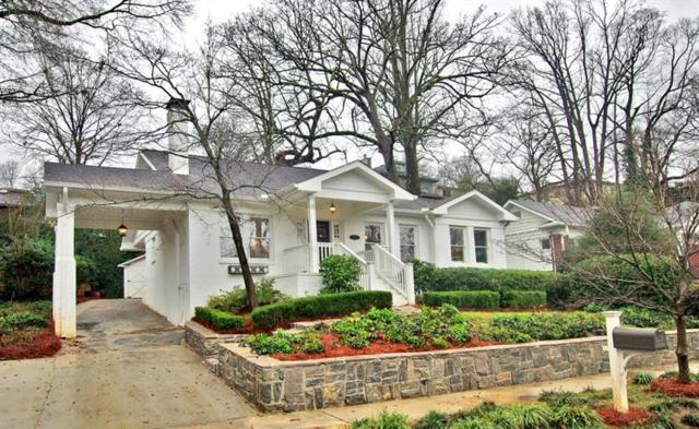 1073 Reeder Circle NE, Atlanta, GA 30306 (MLS #5995444) :: North Atlanta Home Team