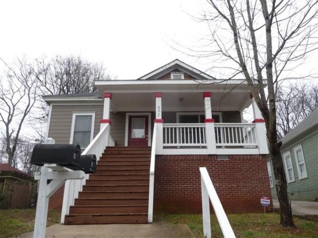 865 White Street SW, Atlanta, GA 30310 (MLS #5996292) :: Carr Real Estate Experts