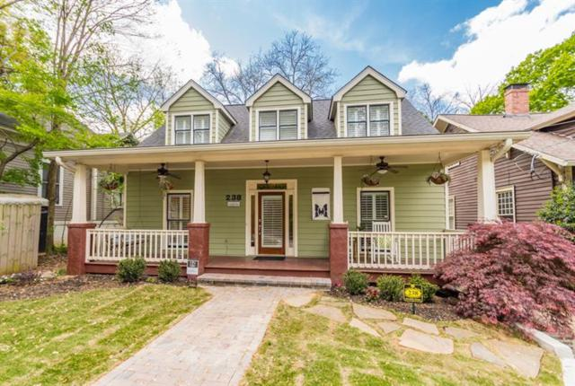 238 Haralson Avenue, Atlanta, GA 30307 (MLS #5996798) :: The Justin Landis Group