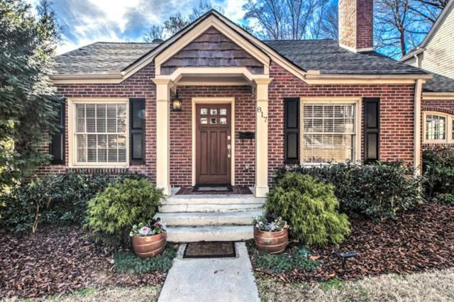 817 Highland Terrace NE, Atlanta, GA 30306 (MLS #5997491) :: The Russell Group