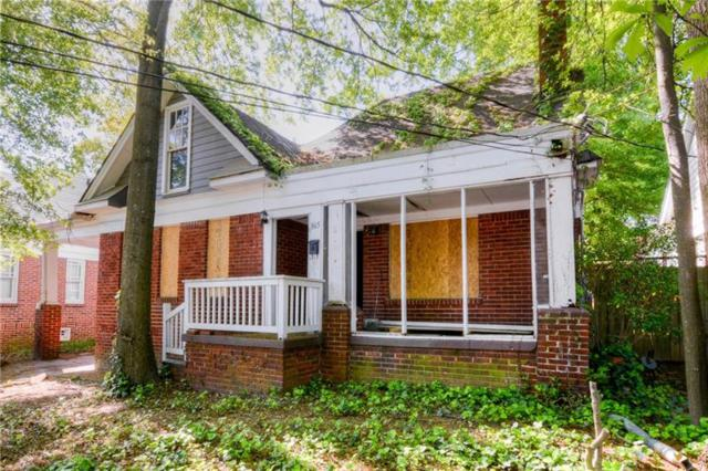 865 Greenwood Avenue NE, Atlanta, GA 30306 (MLS #5997886) :: The Russell Group