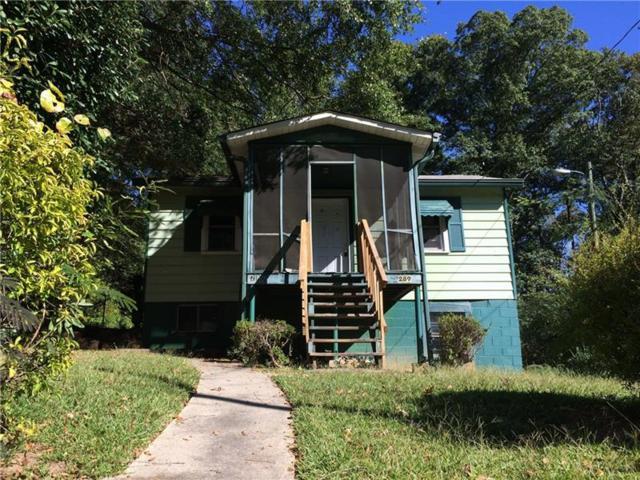 289 Sewanee Avenue NW, Atlanta, GA 30314 (MLS #5998949) :: Willingham Group