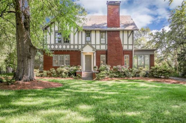 1338 N Decatur Road NE, Atlanta, GA 30306 (MLS #5999777) :: The Justin Landis Group