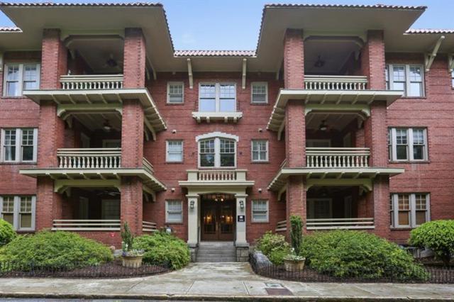 266 11th Street NE #308, Atlanta, GA 30309 (MLS #6000809) :: Kennesaw Life Real Estate