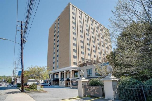 2285 Peachtree Road NE #906, Atlanta, GA 30309 (MLS #6001830) :: The North Georgia Group